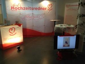 Stand auf der Hochzeitsmesse 2015 in Siegen